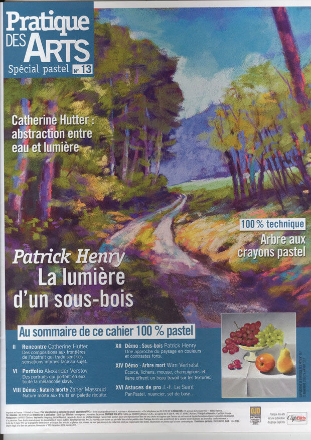 Article pratique des arts catherine hutter